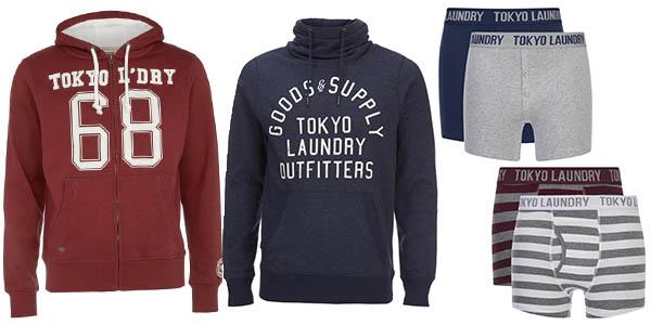 Zavvi promoción sudaderas bóxers Tokyo Laundry enero 2018