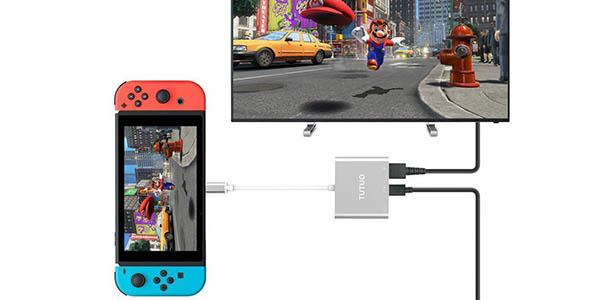 Adaptador para Nintendo Switch a TV en Amazon