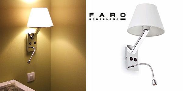 Aplique cabezal de cama Faro Barcelona MOMA 68506 barato