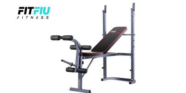 Banco de musculación y entrenamiento fitness piernas brazos de FitFiu barato en eBay España