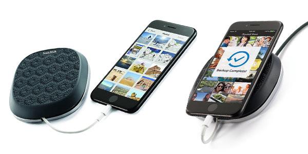 Base SanDisk iXpand de carga para iPhone de 64 GB rebajada