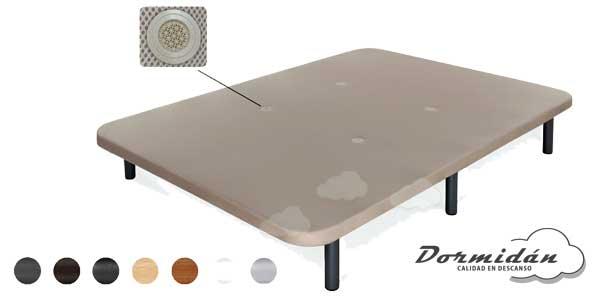 Base tapizada transpirable 3D + 6 patas metal o madera chollazo en eBay