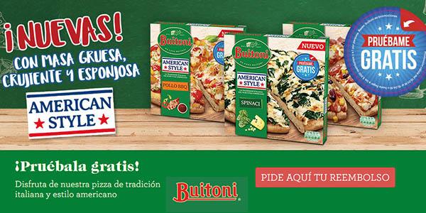 Buitoni pizza American Style gratis febrero 2018
