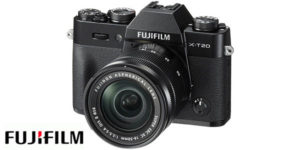 Cámara digital Fujifilm X-T20 con objetivo XC 16-50mm F3.5-5.6