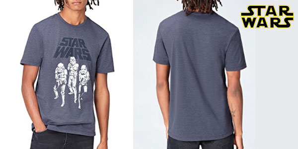 Camiseta Find Star Wars Stormtrooper de color azul para hombre en oferta