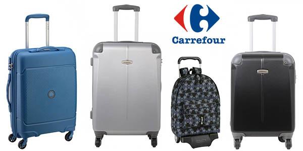 Carrefour online rebajas en maletas y mochilas febrero 2018