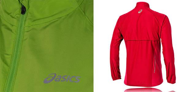 chaqueta ligera impermeable Asics Woven a precio brutal