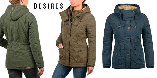 Desires Lewana chaqueta de invierno barata para mujer
