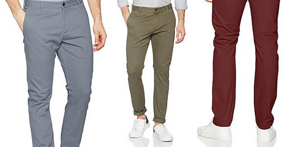 Dockers Washed Khaki Skinny Stretch Twill pantalón chino relación calidad-precio genial