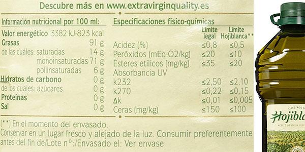 Garrafade 3 litros de AOVE Hojiblanca en oferta