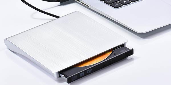 Grabadora DVD-CD externa VicTsing USB 3.0 barata