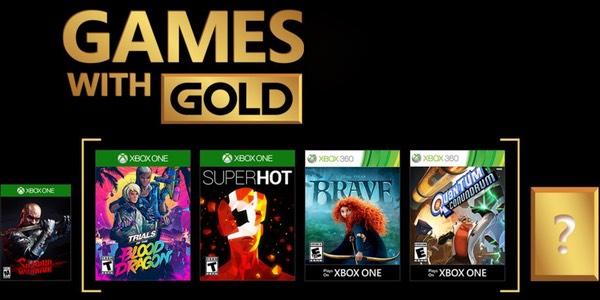 Juegos GRATIS con Gold de marzo 2018 para Xbox One y Xbox 360