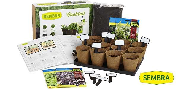 Comprar Kit de cultivo Sembra Cocktail (menta verde, hierbabuena, albahaca..) barato en Amazon
