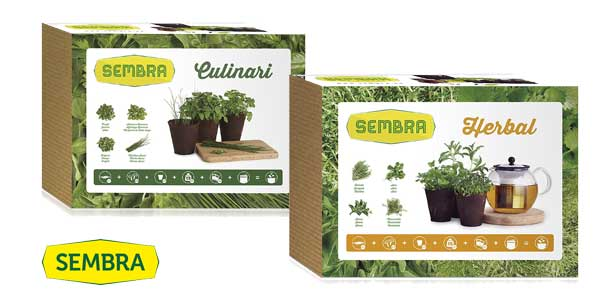 Comprar Kit de cultivo Sembra Herbal o Sembra Culinari barato en Amazon