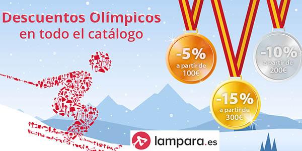 Lampara.es cupones descuento para luminarias en primeras marcas febrero 2018