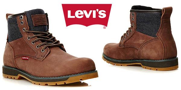 Levi's Logan botines de cuero para hombre baratos