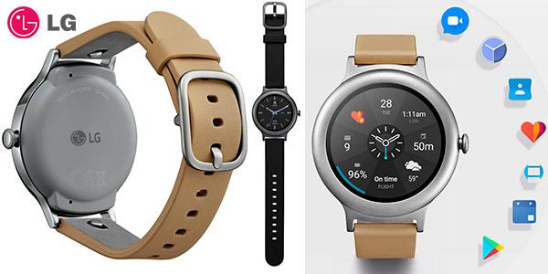 LG Watch Style en modelos Titan y Plata en oferta