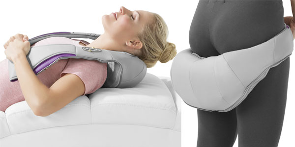 Dispositivo de masaje shiatsu de cuello y hombro Vital Maxx chollazo en Amazon
