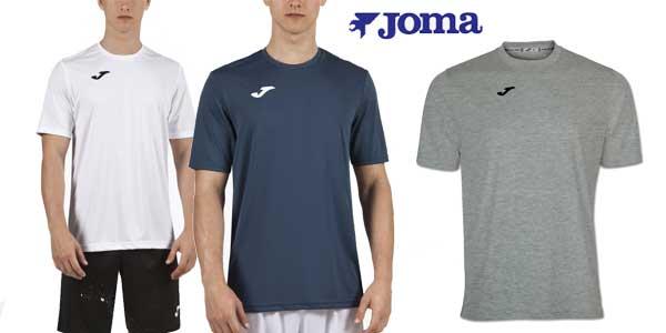 Pack multicolor de 3 camisetas Joma para hombre chollo en eBay