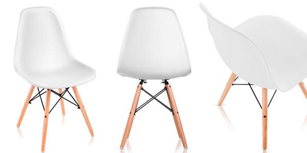 Pack de 4 sillas Tower McHaus de estilo nórdico a buen precio