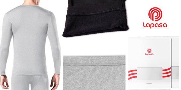 Pack de camisetas térmicas Lapasa de manga larga para hombre en oferta