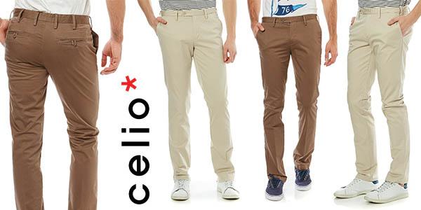 Chollo Pantalones Chinos Celio Doger 2 Para Hombre Por Solo 15 30 Con Envio Gratis 62 De Descuento