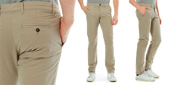 Pantalones chinos Celio Dotalia para hombre baratos