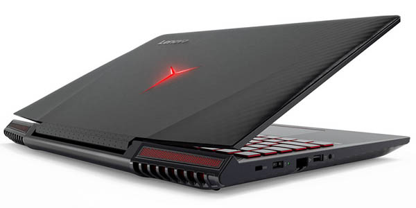 Portátil gaming Lenovo Ideapad Y710-15IKB con GeForce GTX 1060