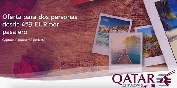 Qatar Airways promoción vuelos Asia África febrero 2018