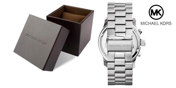 Reloj Michael Kors Runway Chronograph Silver barato en eBay España