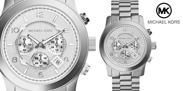Reloj Michael Kors Runway Chronograph Silver chollazo en eBay España