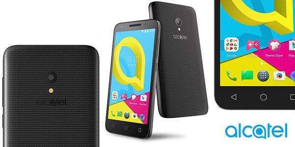 Smartphone Alcatel U5 de 5 pulgadas negro en oferta