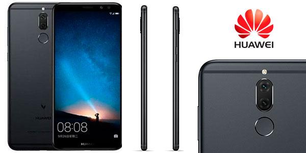Smartphone Huawei Mate 10 Lite de color negro barato