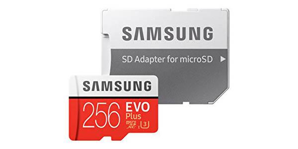 Samsung EVO Plus de 256 GB barata