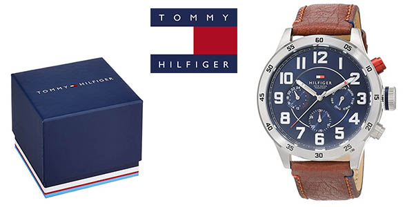 Tommy Hilfiger Trent 1791066 reloj pulsera correa de cuero oferta