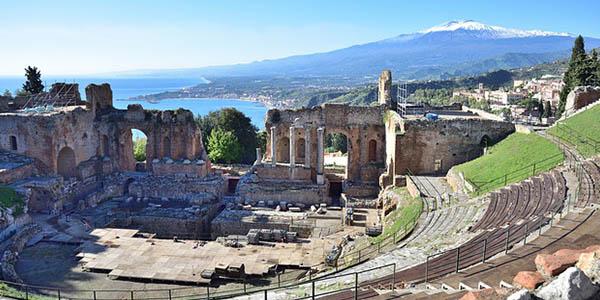viaje Sicilia en coche de alquiler oferta febrero 2018