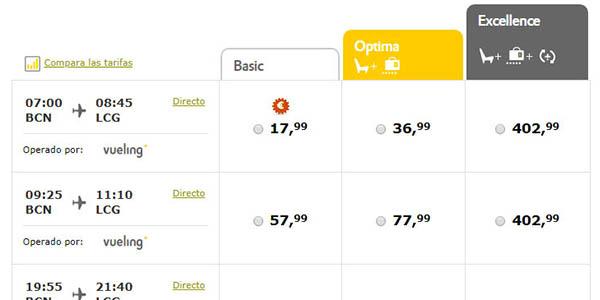Vueling ofertas en billetes de avión para viajar por España