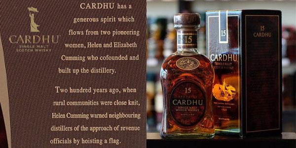 Whisky escocés Cardhu 15 Años de 700 ml chollazo en Amazon