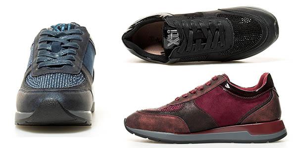 zapatillas casuales Xti Nara para mujer chollo