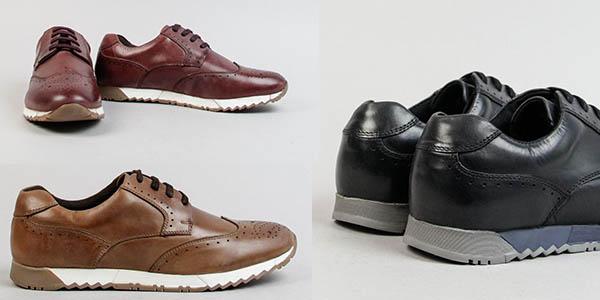 zapatos de diseño casual para hombre Emmshu chollo