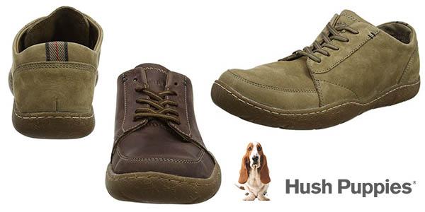 zapatos Hush Puppies Furman Sway en cuero para hombre baratos