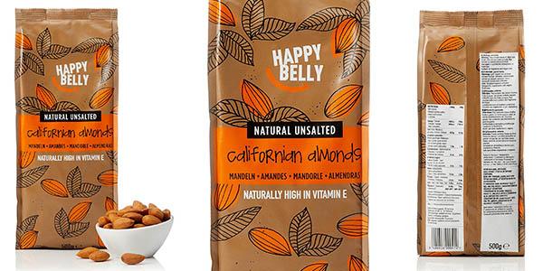 almendras Happy Belly Amazon en promoción a precio brutal