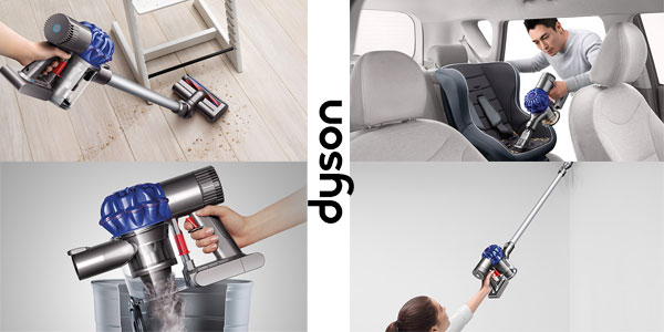 Aspirador Vertical DYSON V6 Slim Origin 21.6 V Sin cable Escoba Ciclónico chollo en eBay