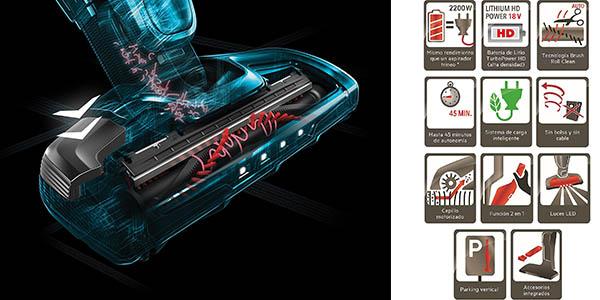 aspiradora escoba y de mano 2 en 1 AEG CX7 Flexibility con batería de litio a precio brutal