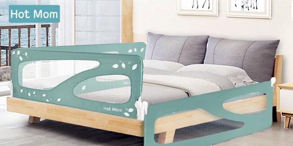 Barandilla de seguridad para niños Hot Mom para cama de 150 cm barata en Amazon