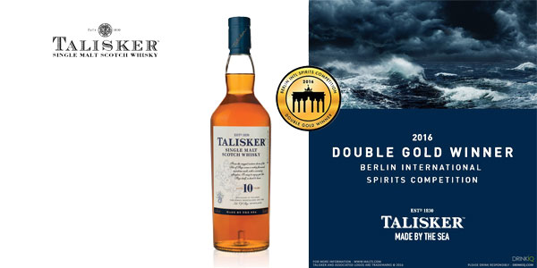 Talisker Single Malt Whisky Escocés botella de 700 ml chollazo en Amazon