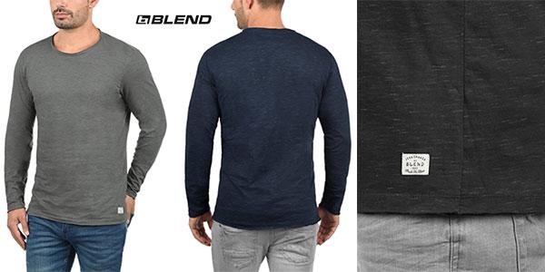Camiseta de manga larga Blend Barney para hombre barata