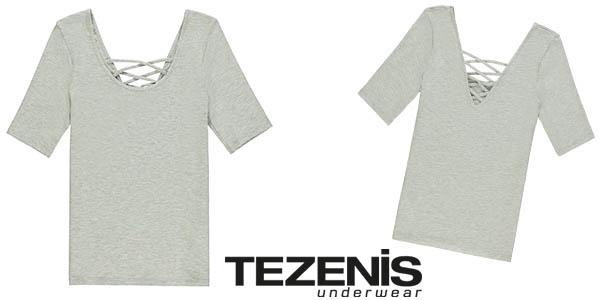camiseta Tezenis cruzada en la espalda para mujer barata