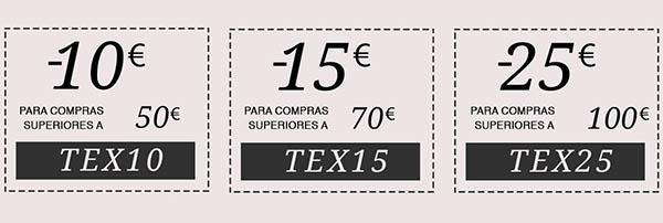 Carrefour primera compra con código descuento TEX25 septiembre 2018