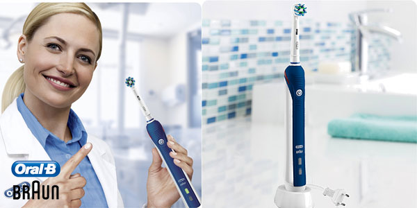 Braun Oral-B PRO 2 2000N CrossAction - Cepillo de dientes eléctrico recargable chollazo en Amazon